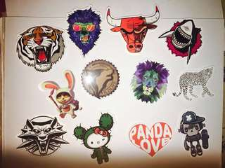 S3 Animal Laptop Stickers