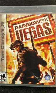 PS3 Tom Clancy's Rainbow Six Vegas