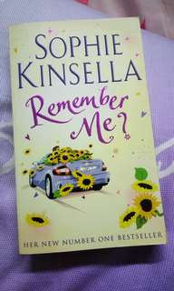 Sophie Kinsella Books - Remember Me