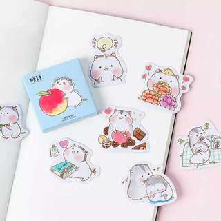 (PO) Baby Hamster Stickers