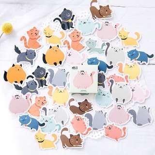(PO) Cute Cat Stickers