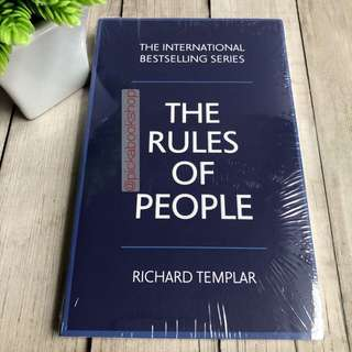 The Rules of People - A personal code for getting the best from everyone - Richard Templar