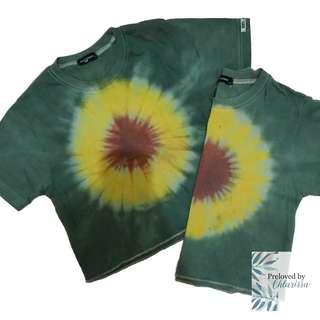 Tie dye Sunflower Shirt