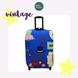 Luggage Cover Protector Vintage