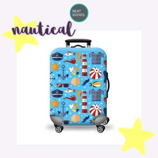 Luggage Cover Protector Nautical