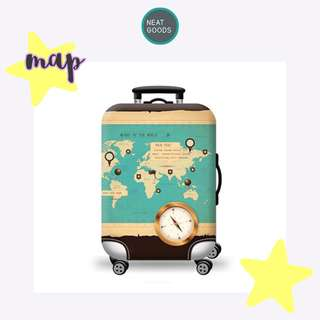 Luggage Cover Protector Map