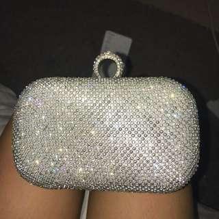 Formal Diamond Clutch