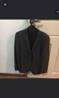 G2000 Men Black Suit Pants Full Set
