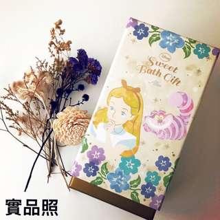 🚚 日本Disnep迪士尼 愛麗絲夢遊仙境泡澡沐浴組禮盒