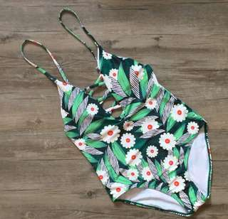 Floral Swimsuit One Piece