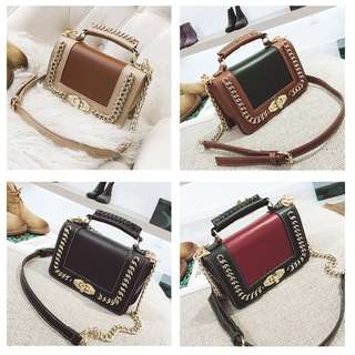 [PO] Ladies Small PU Leather Crossbody Bag