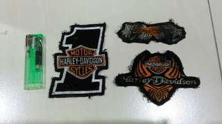 HARLEY DAVIDSON Patches