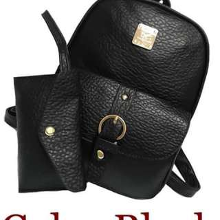 Bagpack With Coin Purse