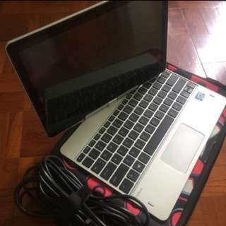 兩折 勁平 tablet+computer Hp Elitebook Revolve 810 notebook 手提電腦 平板電腦 touch iPad