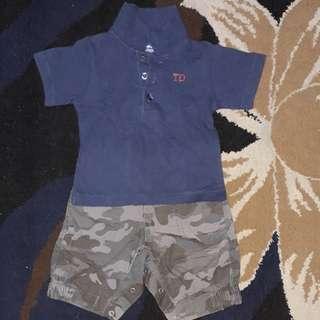 Baju baby set Tenderly