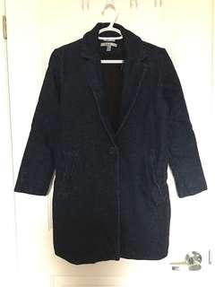 Zara denim coat