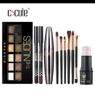 Cocute Makeup Tool Kit 4 PCS