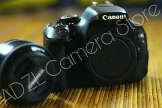 Camera DSLR Canon 600D Kiss X5 with Lensa Fix Youngnuo