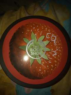 THE BODY SHOP STRAWBERRY SOFTENING BODY BUTTER