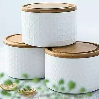 Embossed Canister Set