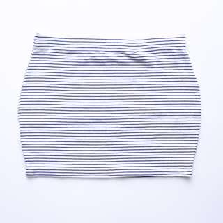 Factorie Striped U Tube Bandage Skirt