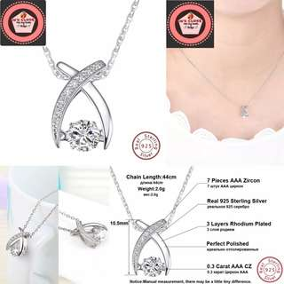 925 Sterling Silver Women's Necklaces