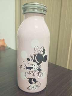 🚚 Disney 粉色米妮保溫瓶