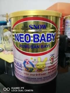 Snow Neo Baby Step 1 (0-9 Months) Milk Powder 350g