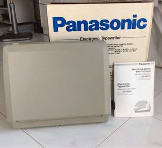 Panasonic KX-R305 Electric Typewriter with extra ribbons