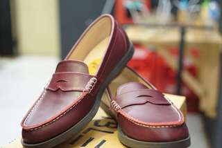 AMBLE shoes Costa Red Cherry