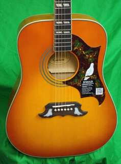 Epiphone Dove Pro Acoustic Guitar with case