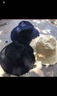 夏日必備靈魂單品漁夫帽-杏