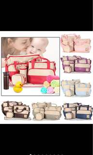 5 in 1 Mommy Essential Diaper Multi Bag