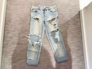 One teaspoon jeans size 24