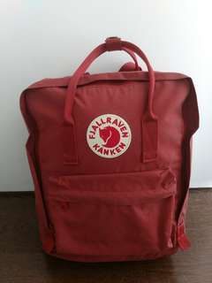 Fjallraven Kanken Deep Red Backpack
