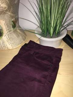 Burgundy Jeans Lord & Taylor