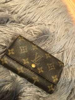 Authentic Louis Vuitton Foldover Wallet
