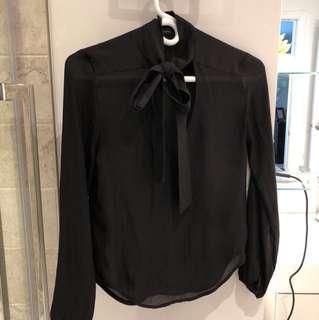 Aritzia Talula crepe blouse
