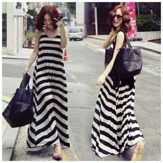 V Neck Oversized Maxi Dress