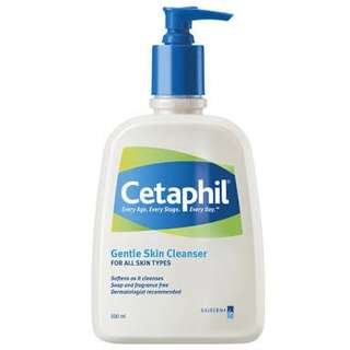 cetaphil gentle cleanser 500 ml