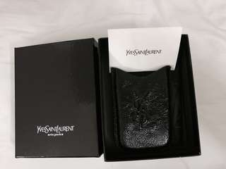 YSL MOBILE PHONE ACCESSORY / CARD HOLDER