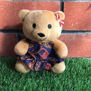 Handmade SIA Kebaya authentic cloth SIA bear