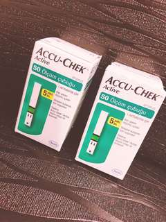 Accu check strips - 50pcs