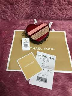 Michael Kors Heart Coin Purse Pouch