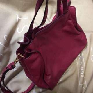 Dissona Rose Leather Bag