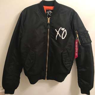 ALPHA INDUSTRIES x THE WEEKND BOMBER