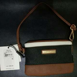 Authentic Calvin Klein Wristlet From Nordstrom New Jersey