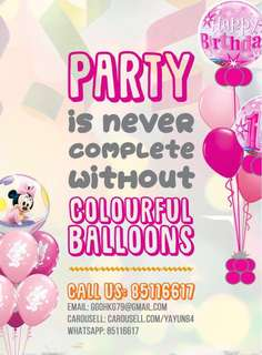 Party Balloons 🎈 🎈 Decorations