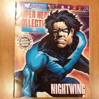 Eaglemoss Magazine - Nightwing Issue 19 DC Comics Superhero Collection