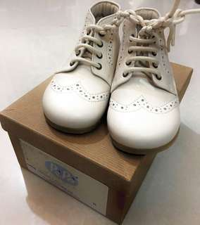 PePe White Leather Shoes